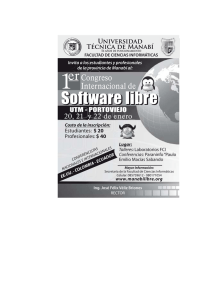 1 Software libre er Congreso