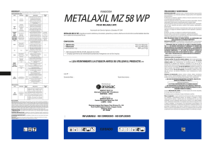 METALAXIL-MZ 58 WP