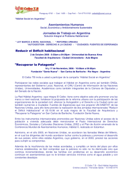 application/pdf Habitat Social en Argentina, 2006 (español).pdf [53,68 kB]