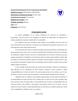 """Escuela Normal Superior Nº 32 """"Gral. José de San Martín"""""""