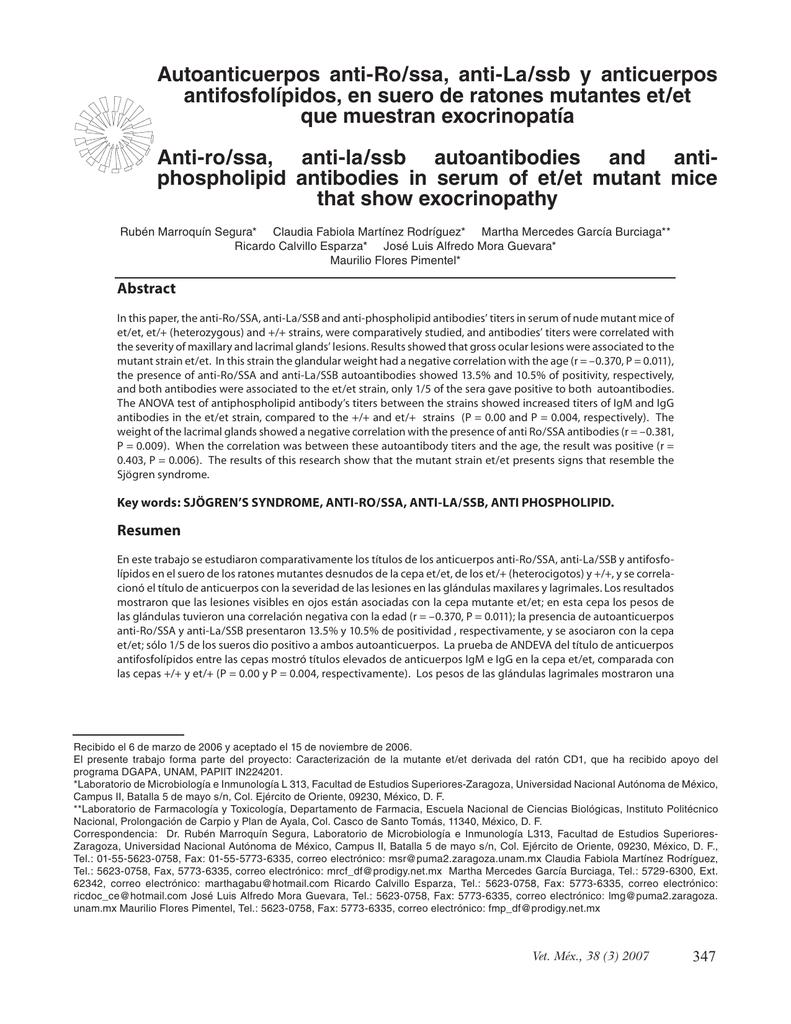 Anticuerpos Antifosfolipidos Pdf