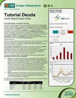 10/12/2010 Tutorial Deuda: Credit Default Swap (CDS).