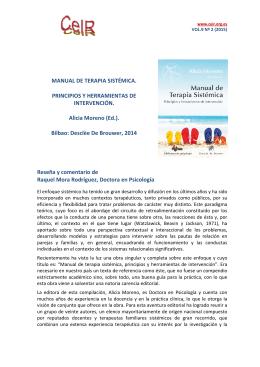 http://www.psicoterapiarelacional.es/Portals/0/eJournalCeIR/V9N2_2015/Mora_Review_AMoreno_Manual-de-Terapia-Sistemica_CeIR_V9N2.pdf