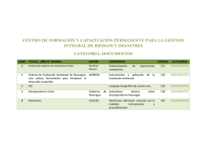 CENTRO DE FORMACIÓN Y CAPACITACIÓN PERMANENTE PARA LA GESTION CATEGORIA: DOCUMENTOS