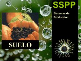 SSPP SUELO Sistemas de Producción