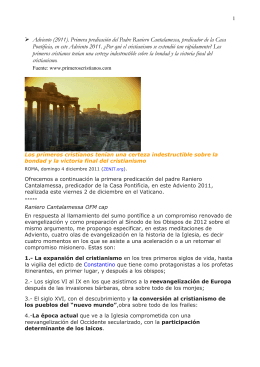 Adv11 1 ExpansionCristianismo3PrimerosSiglosCantal
