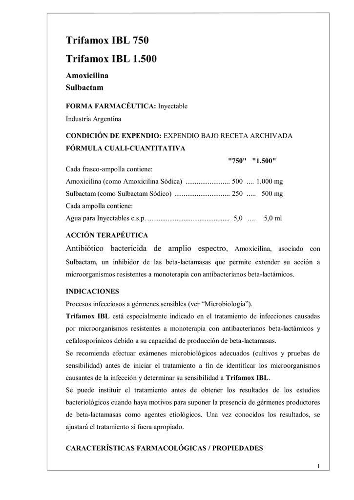 500 sirve que amoxicilina trifamox para