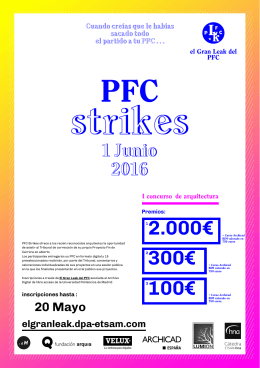 PFC strikes 2.000€ 1 Junio
