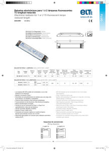 FLUO 220-240V BALASTOS PARA 1 LÁMPARA / BALLASTS FOR 1 LAMP