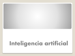 Inteligencia artificial A