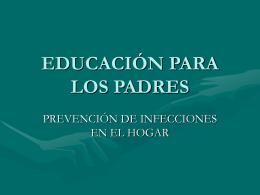 Prevención de Infecciones en el Hogar