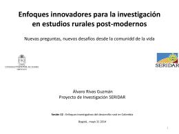• Alvaro Rivas Guzmán