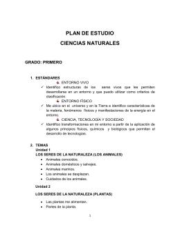 01_PLAN DE ESTUDIO CIENCIAS NATURALES 1-5 2010