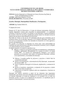 Descargar este adjunto (Gestion Municipal Municipio Totora.doc)