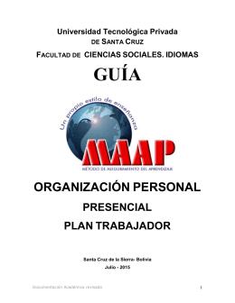 Texto Guia MAAP Organizacion Personal 2015 1 - Sem 1 (2) final