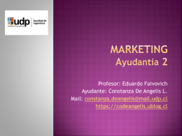 ayudantia 2 marketing 1er semestre 2013