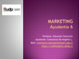 ayudantia 6 marketing1er semestre 2013