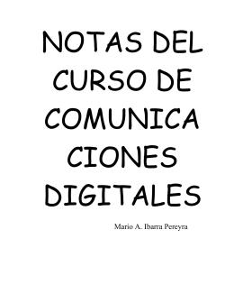 NOTAS DEL CURSO DE COMUNICA CIONES