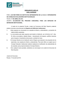 LOS  RECTORES  DE  INSTITUTOS  DEPENDIENTES ... 17 DE ABRIL DE 2013.