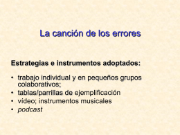 Cancion errores.ppt