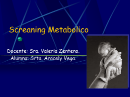 Screaning Metabolico