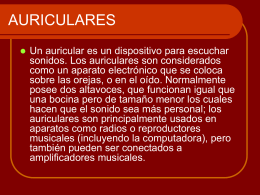 AURICULARES.ppt