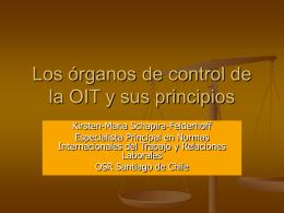 Normas de funcionamiento del Comit de libertad sindical y Comisi n de expertos