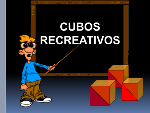 Mod cubos recreativos