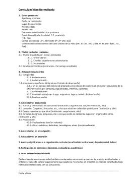 Modelo De Cuestionario Semi Estructurado A Instituciones De