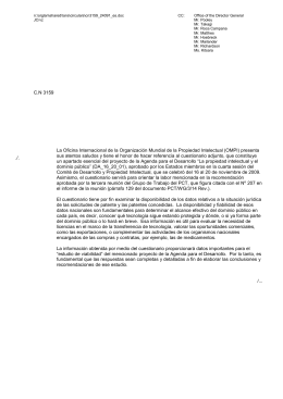n:\orglan\shared\lans\circulars\cn3159_24091_es.doc CC: Office of the Director General JC/vz