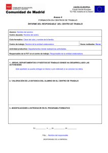 Documento de evaluación