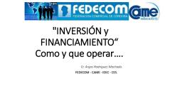 Descargar Presentación VM Inversion y Financiamiento 2015 final 30 SEGUNDA PARTE.ppt
