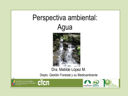 Matilde L pez - Perspectiva Ambiental - Agua (Universidad de Chile)