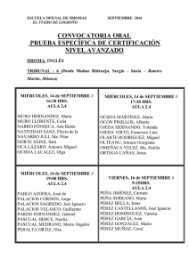 ingles intermedio tribunal 6