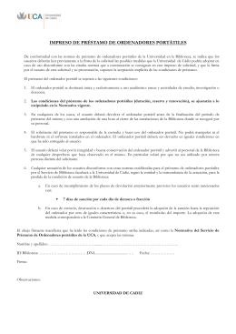 documento de aceptación de las condiciones de uso