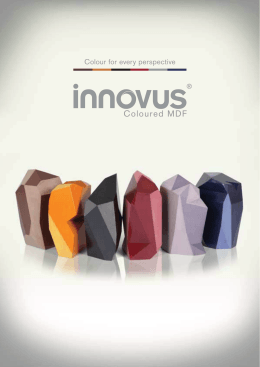 Innovus Coloured MDF (PDF)
