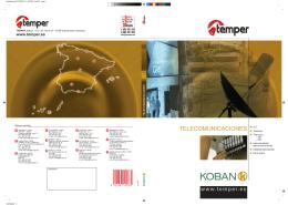 Koban Telecomunicaciones 2007 (PDF)