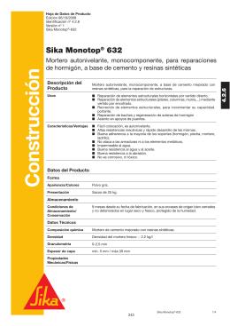 Sika monotop 612 r2164 2 4 - Sika monotop 612 ...