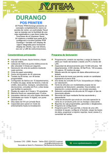 DURANGO POS PRINTER