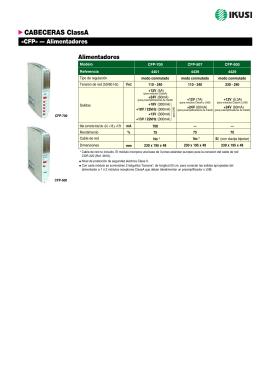 Alimentadores - CFP (PDF)