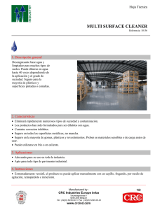 06 - CRC Multi Surface Cleaner (PDF)