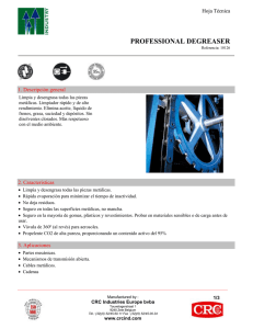 19 - CRC Professional Degreaser (PDF)