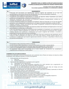 Norma Técnica DRPSA-006-2015.  Requisitos.