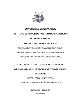 RIERA, HENRY. Análisis cualitativo de las medidas de salvaguardias en el sector automotriz en el Ecuador..pdf