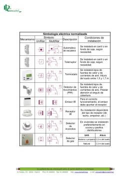 Ppi0708064 simbologia para planos de emergencia for Simbologia en planos arquitectonicos