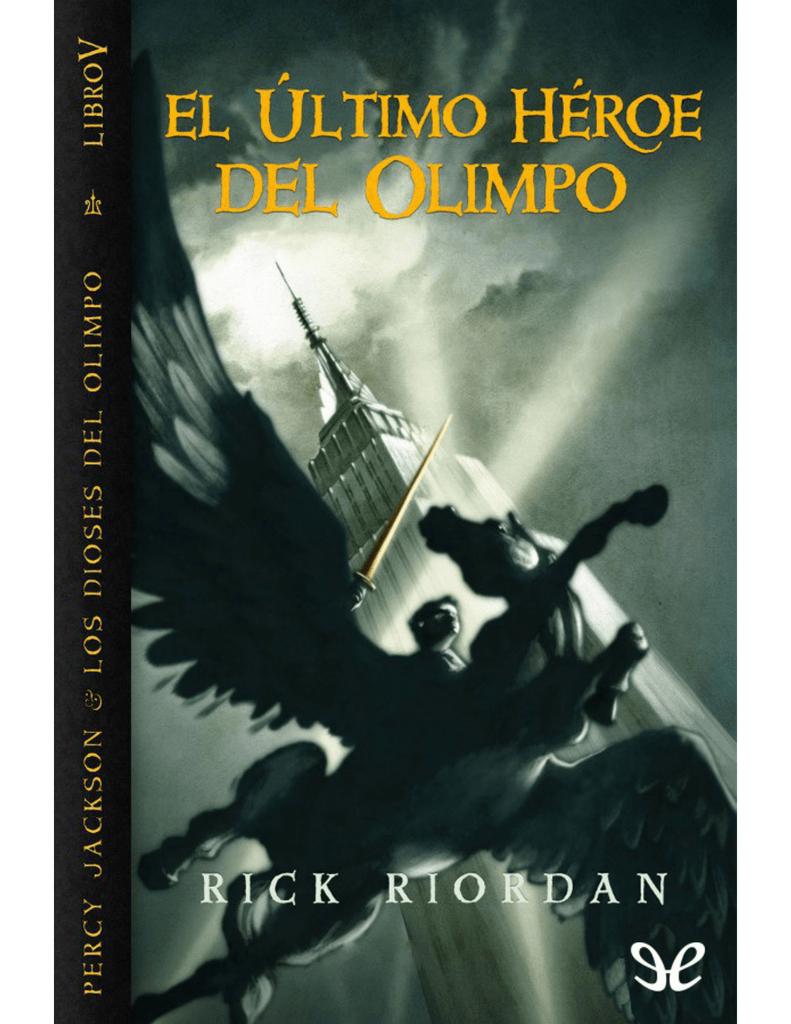 Lavabo Olimpo Roca.Percy Jackson Y Los Dioses Del Olimpo 05 El Ultimo Heroe