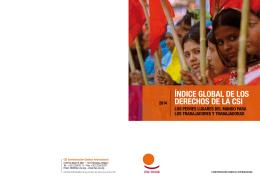 ÍndICe Global de los deReChos de la CsI los TRabajadoRes y TRabajadoRas