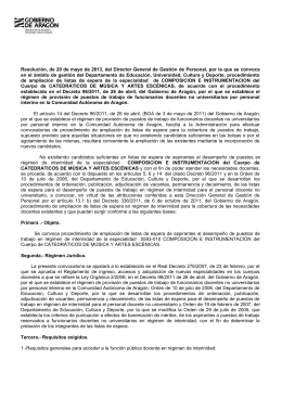 Resoluci n convocatoria