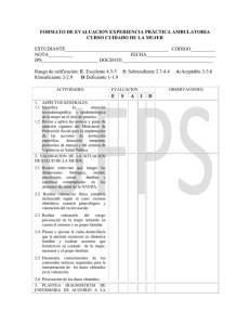FORMATO DE EVALUACION AMBULATORIA