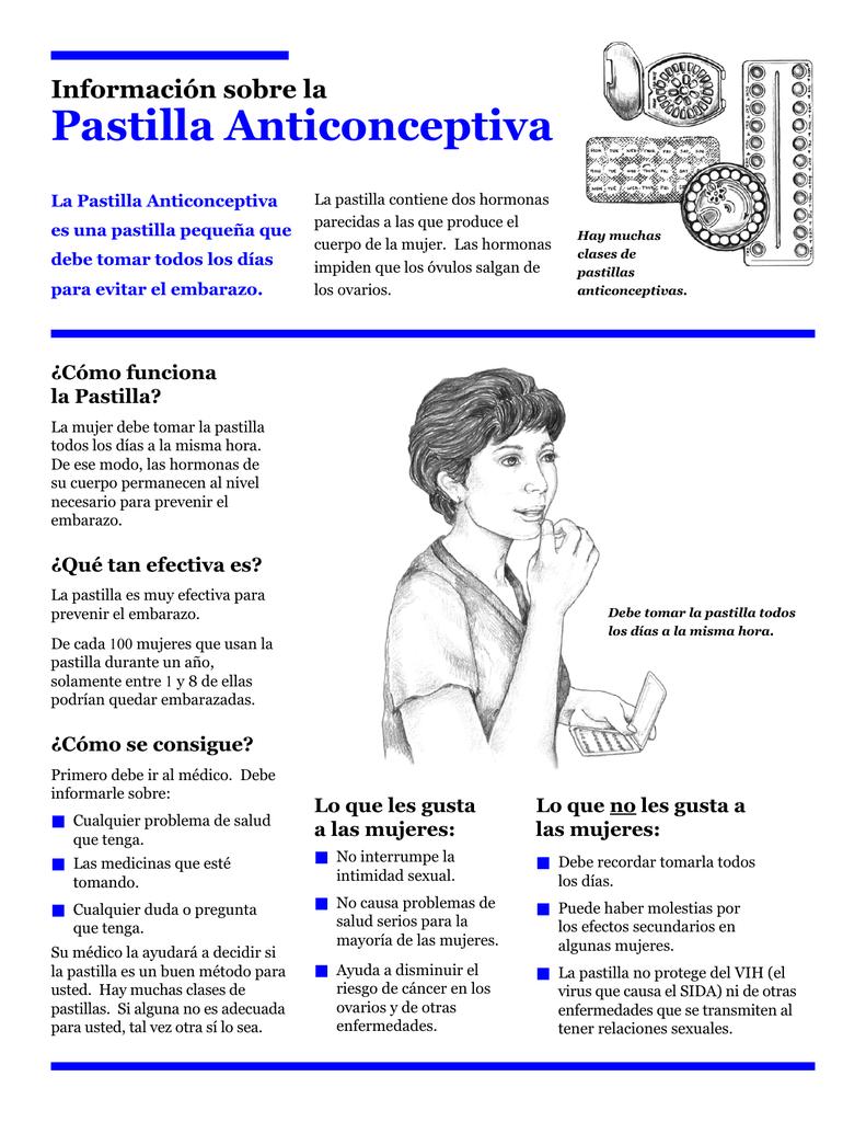como aprender a tomar una pastilla